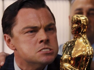 History of funny Leo's photo and his Oscar