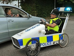 Top 10 funny and unusual police cars